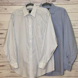JoS. A. BANK Bundle of 2 Dress Shirts